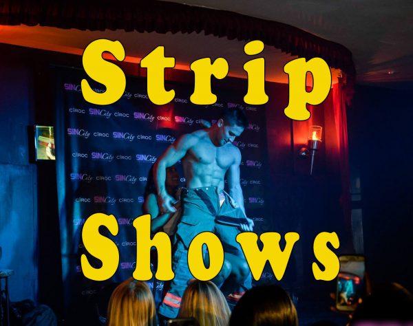 book a male stripper private